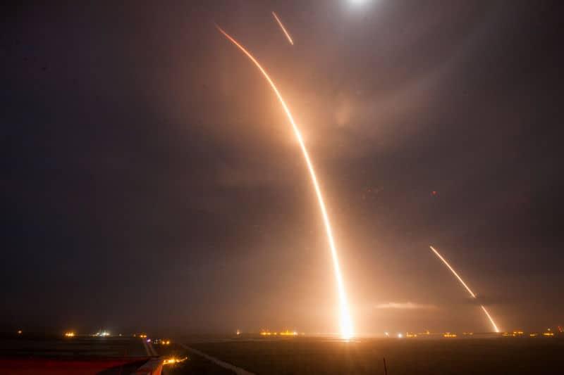 Launch reentry landing